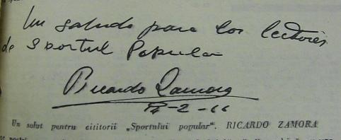 Salut de la Ricardo Zamora, 14 februarie 1966