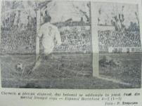 Bomba lui Ivancescu se opreste in plasa portii lui Carmelo
