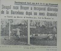 Titlu si foto cu golul patru al stegarilorm marcat de Goran