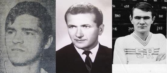 N. Pescaru (1962-1981), I. Szigeti (1956-1967), C. Gyorffy (1966-1977)