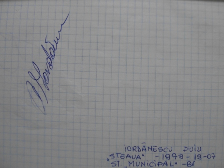 Anghel Iordănescu, pe vremea când nu era nici general, nici senator.