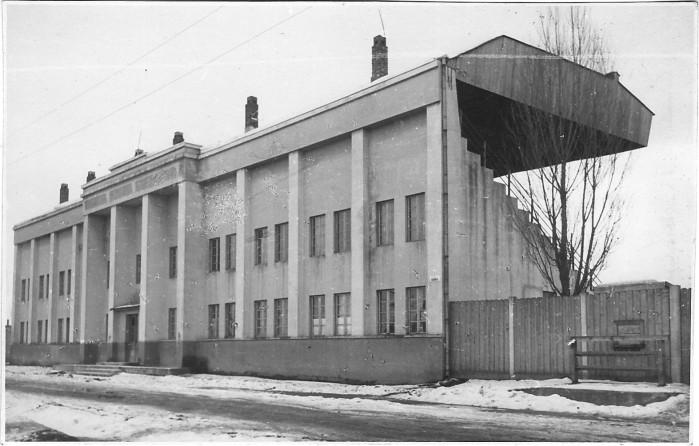 """Așa arătat stadionul în anii în care Uzinele """"Astra"""" Braşov luptau pentru prima promovare în Divizia A. sursa"""