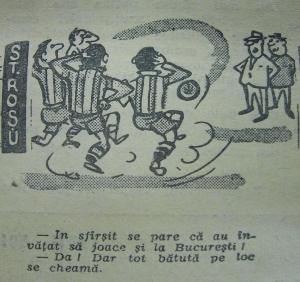 Caricatură în Sportul Popular