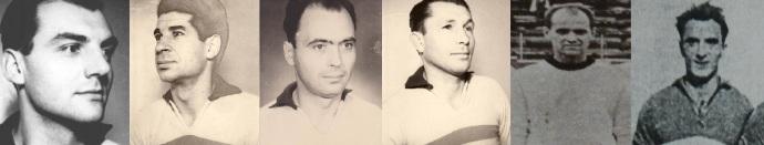 Nicolae Proca, Gheorghe Fusulan, Gheorghe Marinescu, Gheorghe Percea, Gheorghe Aron, Gheorghe Raicu