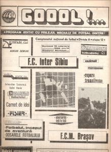 Program meci Inter Sibiu-FCM Braşov
