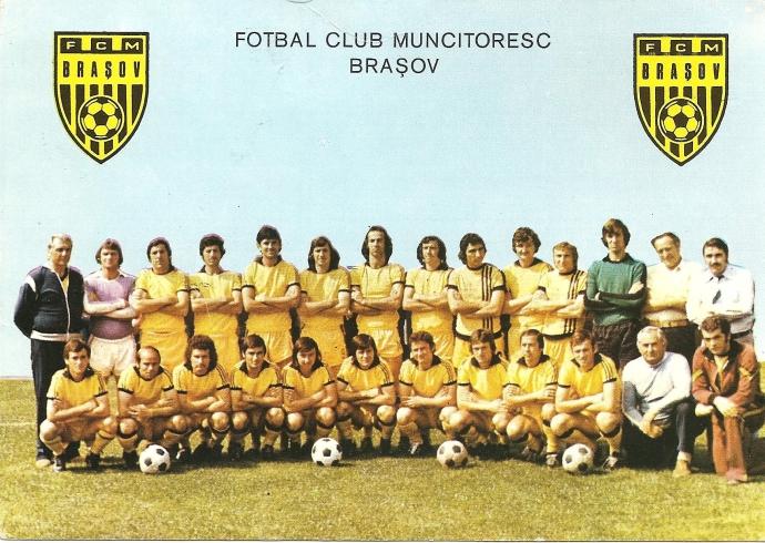 FCM Braşov, vara 1979