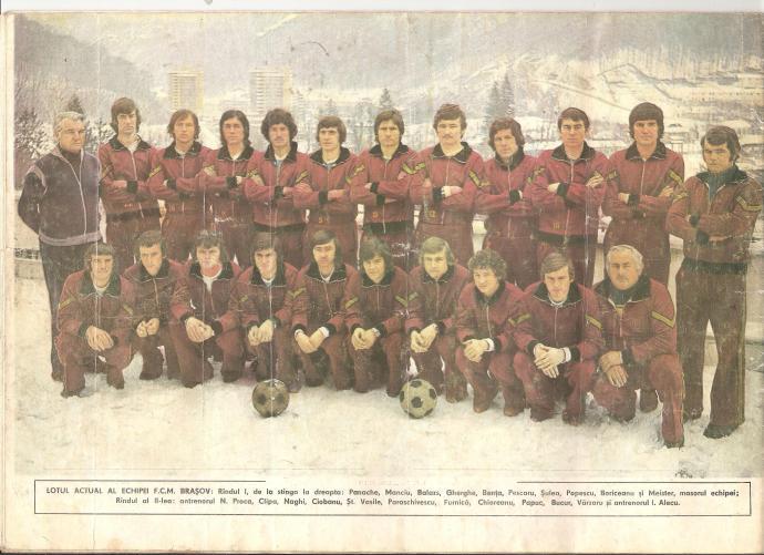 FCM Braşov, înaintea returului, februarie 1980
