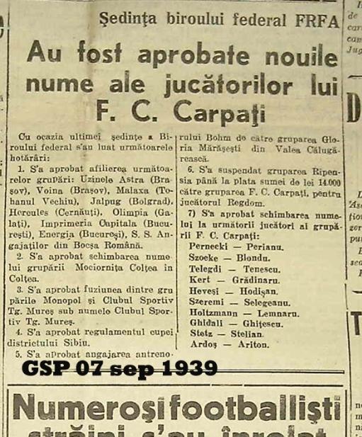 Anunțul afilierii FC Brașov la FRF