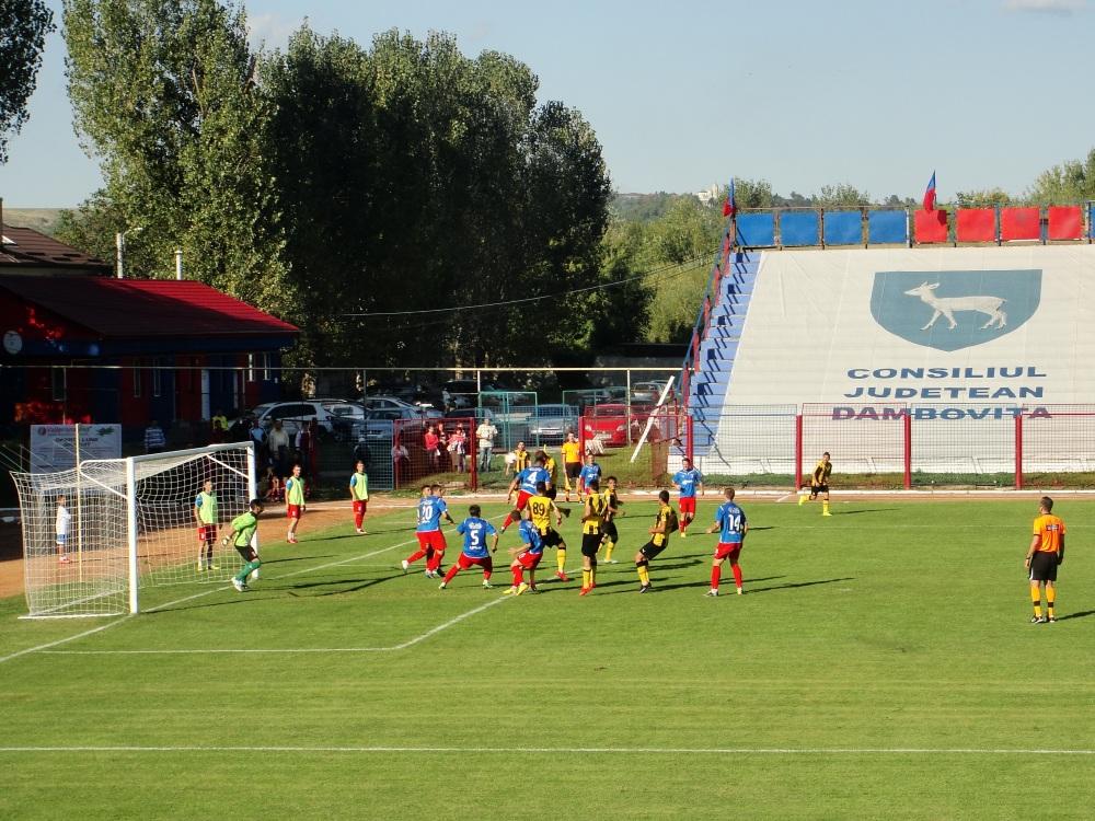 FCM Targovise-FC Brasov 1-3 Cupa Romaniei