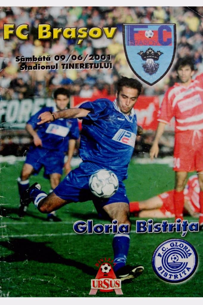 "Mugurel ""Pele"" Buga. FC Brasov vs Dinamo 2001"