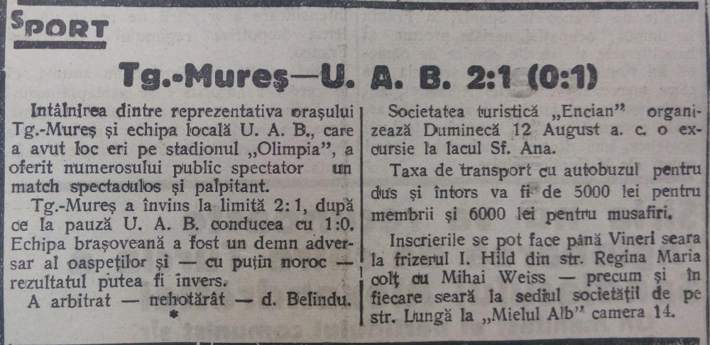 Drum nou, 9 august 1945
