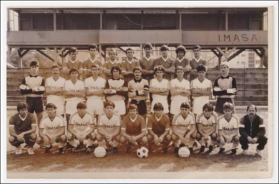IMASA 1986, cu Spirea, Gherghe şi Hârsean