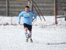 Cătălin Stan - iniţiatorul fazei din care FC Braşov a deschis scorul la Zărneşti.