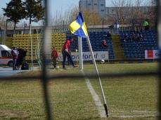 Mi-a plăcut faptul că Dunărea are steguleţele de corner în culorile clubului.