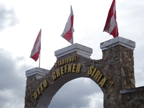 Stadionul Otto Greffner, poarta principală