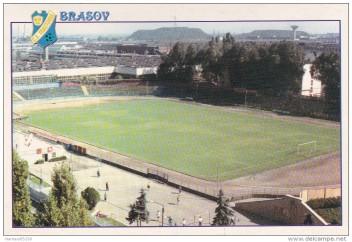 Stadionul Tractorul Braşov în anii 1980