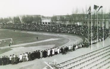 Stadionul Tractorul Brasov anii 1960