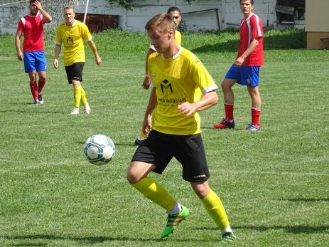 Marcatorul golului de 1-0 în meciul amical contra Inter Cristian (2-1) din 28 iulie 2018.