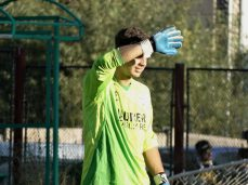 """Victoria """"stegară"""" a fost asigurată la Zărneşti de reflexul lui Andrei Maxim în situaţie unu-contra-unu din finalul meciului."""