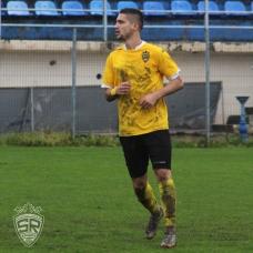 Laurenţiu Căpăţână, unul din stâlpii apărării. / foto de Cătălin Ignat
