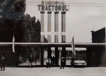 Stadionul Tractorul în 1977