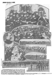"""Regimentul 27 """"Bacău"""", 23 aprilie 1912"""