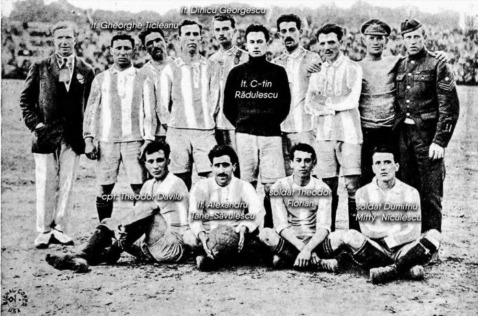 Nationala Romaniei la Jocurile Inter-Aliate 1919