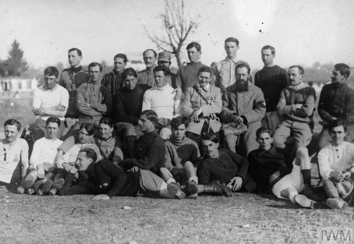 Soldaţi români în Primul Război Mondial