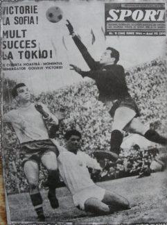 Bulgaria - România, calificări JO Tokyo 1964