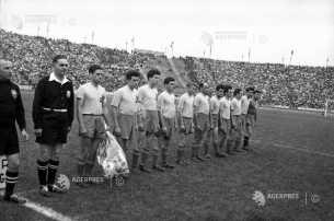 România - Norvegia 1956