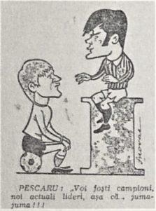 Caricatura Nicolae Pescaru