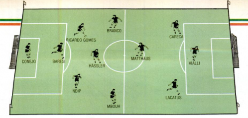 Marius Lăcătuş în echipa săptămânii la CM Italia 1990